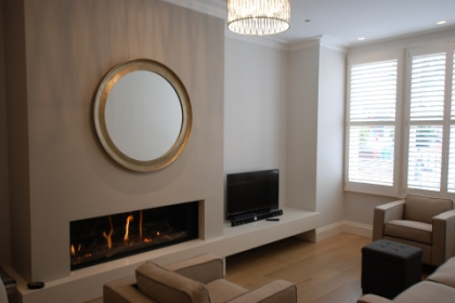 Builders Contemporary Fireplace Wandsworth