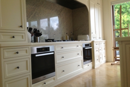 Traditional Shaker Style Kitchen Kensington and chelsea Joinery